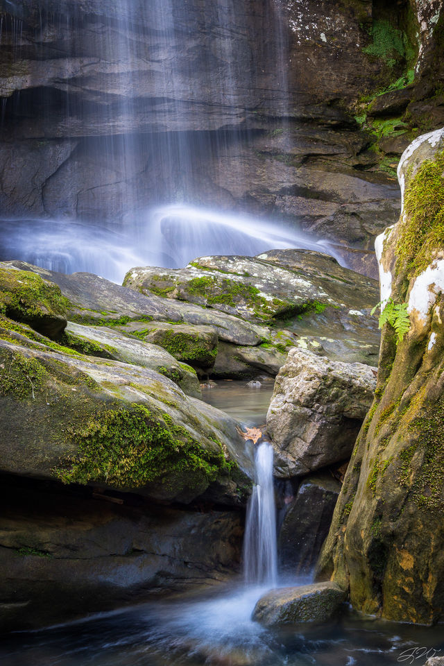 Burden Falls, Focus Stack, Illinois, Landscape, Long Exposure, Midwest, Moss, Shawnee National Forest, Sony Alpha, Waterfall