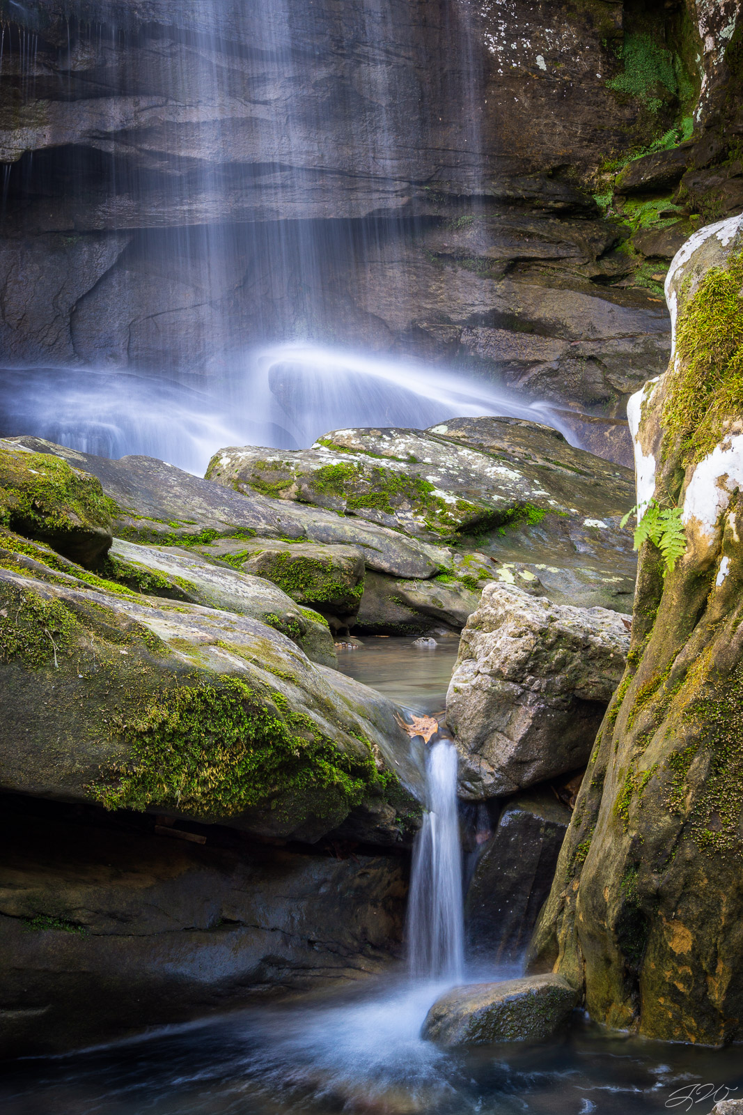 Burden Falls, Focus Stack, Illinois, Landscape, Long Exposure, Midwest, Moss, Shawnee National Forest, Sony Alpha, Waterfall, photo